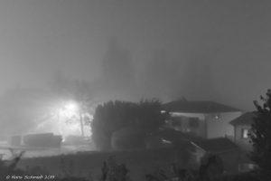 Nebel über Großpösna