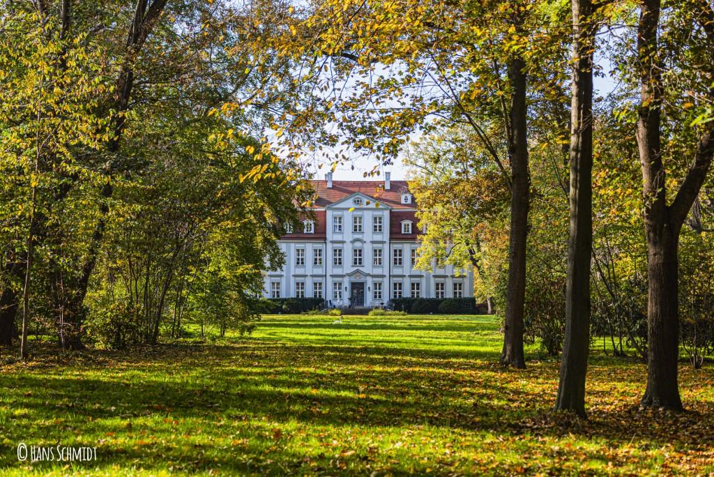 Schloss Güldengossa (Rückseite)